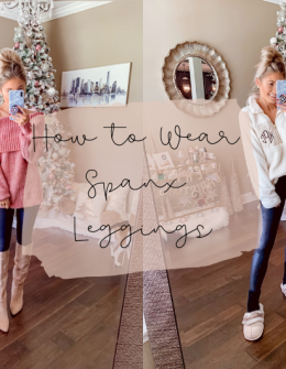 how to wear Spanx leggings